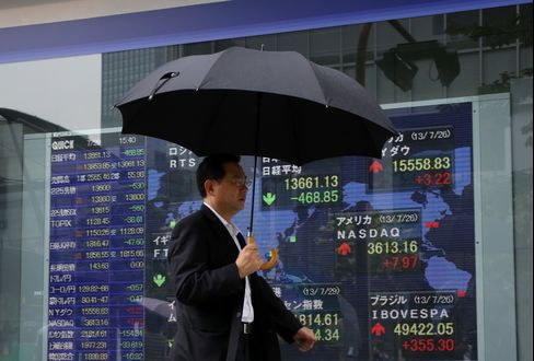 Most Asian Stocks Rise as Japanese Shares Rebound on Weak Yen