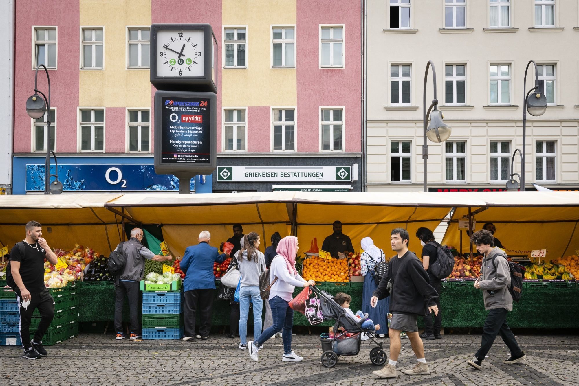 relates to Merkel's Legacy Comes to Life on Berlin's 'Arab Street'