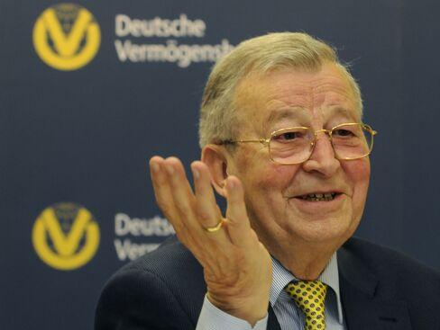 Deutsche Vermoegensberatung AG Founder Reinfried Pohl