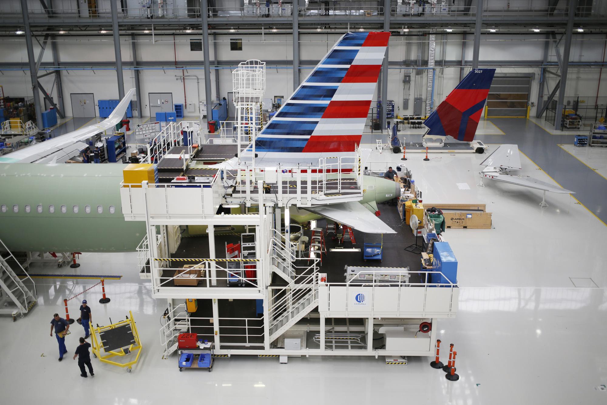 American Air Mulls Longest-Range Airbus A321 to Plug Boeing Gap
