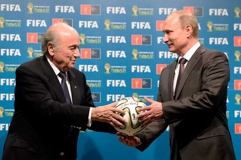 FIFA and Putin Understand Each Other Very Well