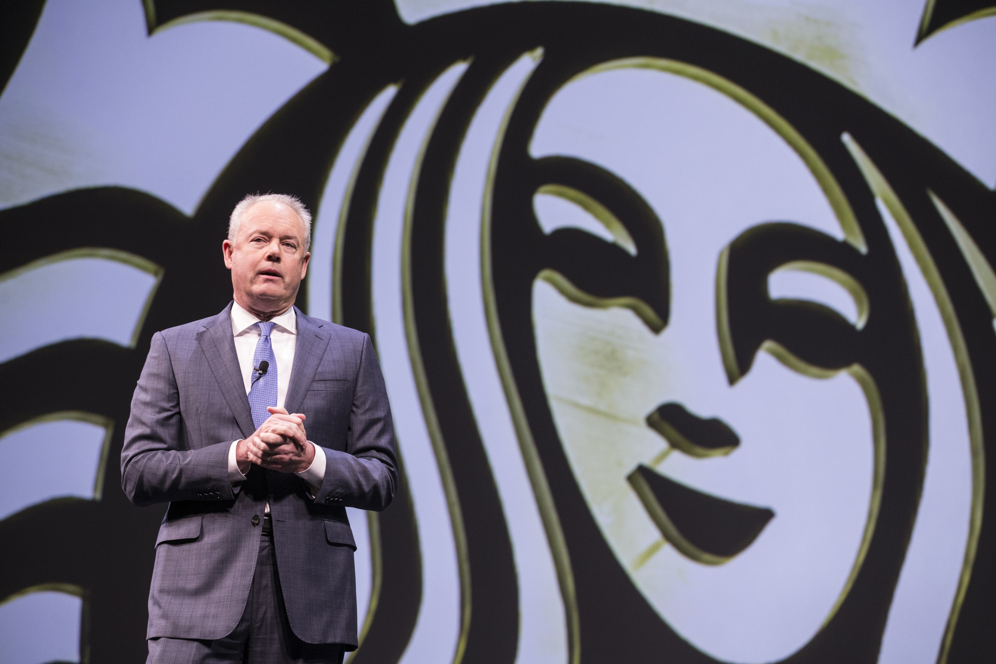 As Schultz Steps Down, Next Starbucks CEO Brings Tech Savvy