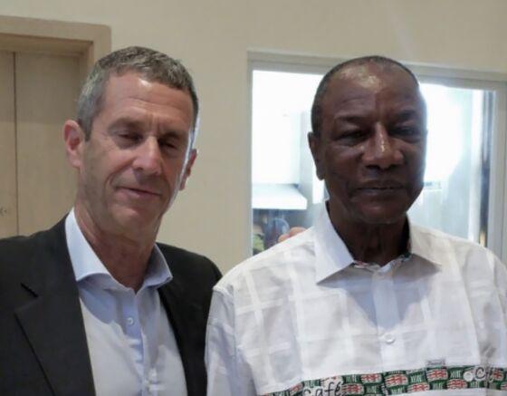 Mining Billionaire Ends Bitter Guinea Dispute After Months of Secret Negotiations