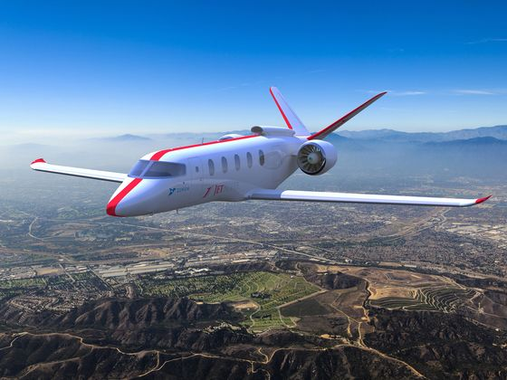 Boeing-Backed Startup Lands JetSuite for Electric Plane's Debut