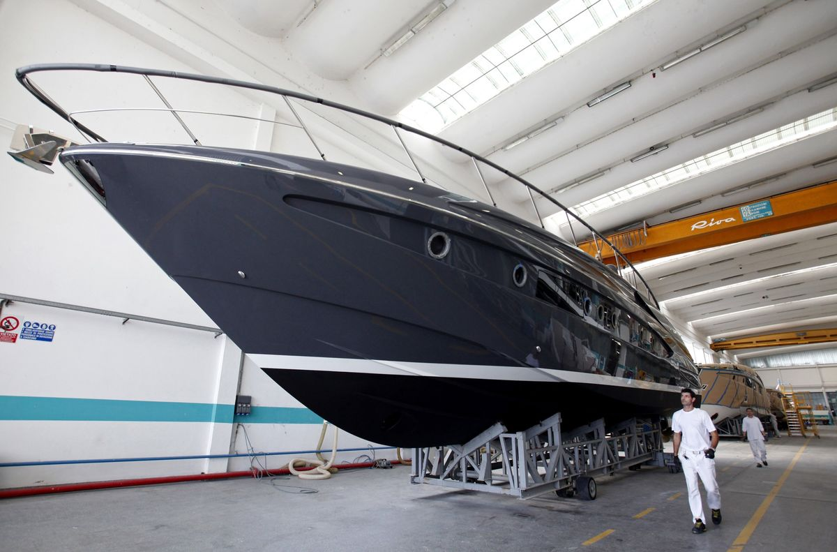 Superyacht Maker Ferretti IPO Books Said Covered at EU2 a Share