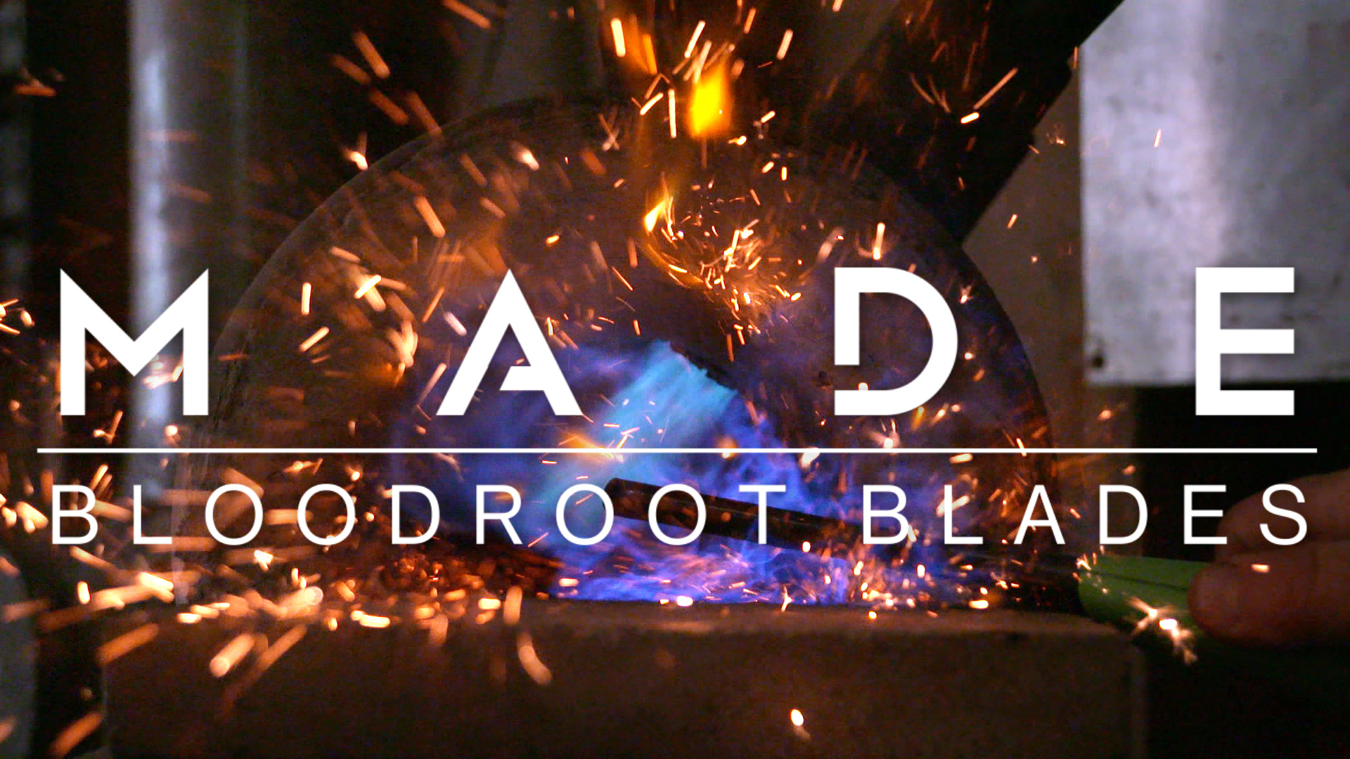 MADE: Bloodroot Blades Forges Knives From Scrap Metal