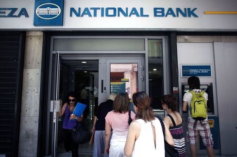 Deposit Flight From European Banks Seen Eroding Common Currency
