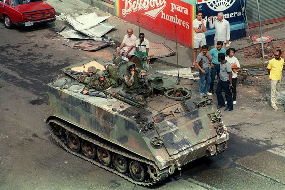 In Venezuela's Backyard, Here's a U.S. Invasion That Ended Well