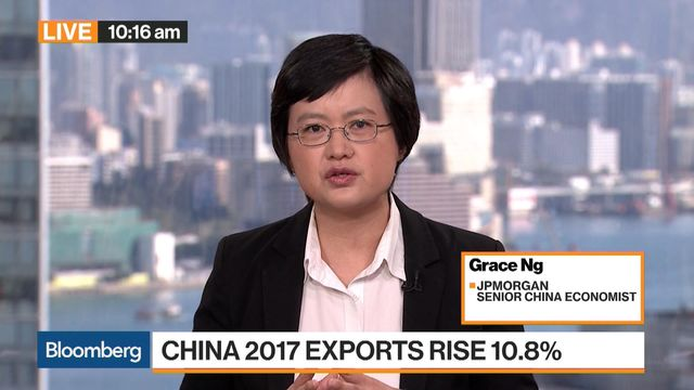 China's 2017 trade boost shows shifting engines of growth