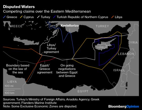 International Law Can't Solve the Greco-Turkish Island Problem