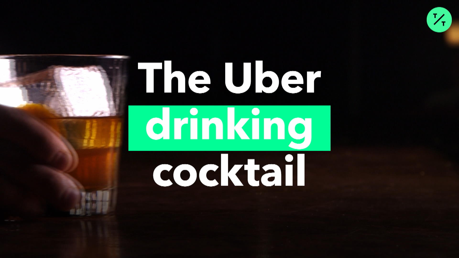 The Uber drinking cocktail