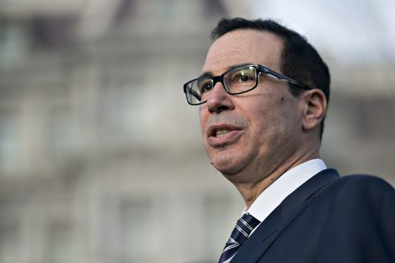U.S. Regulators Tell Mnuchin Nothing Is Out of Ordinary in Markets