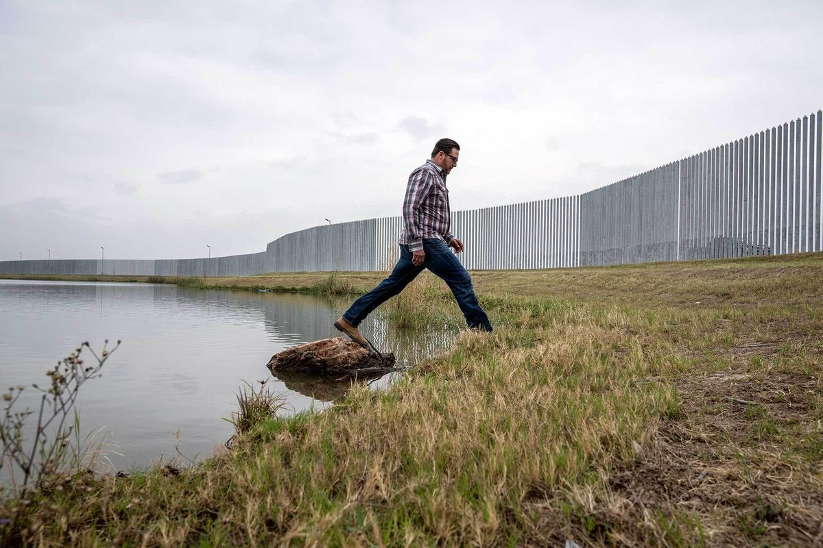 The Guy Who Spent $30 Million Building Trump's Wall Is Looking for Buyers