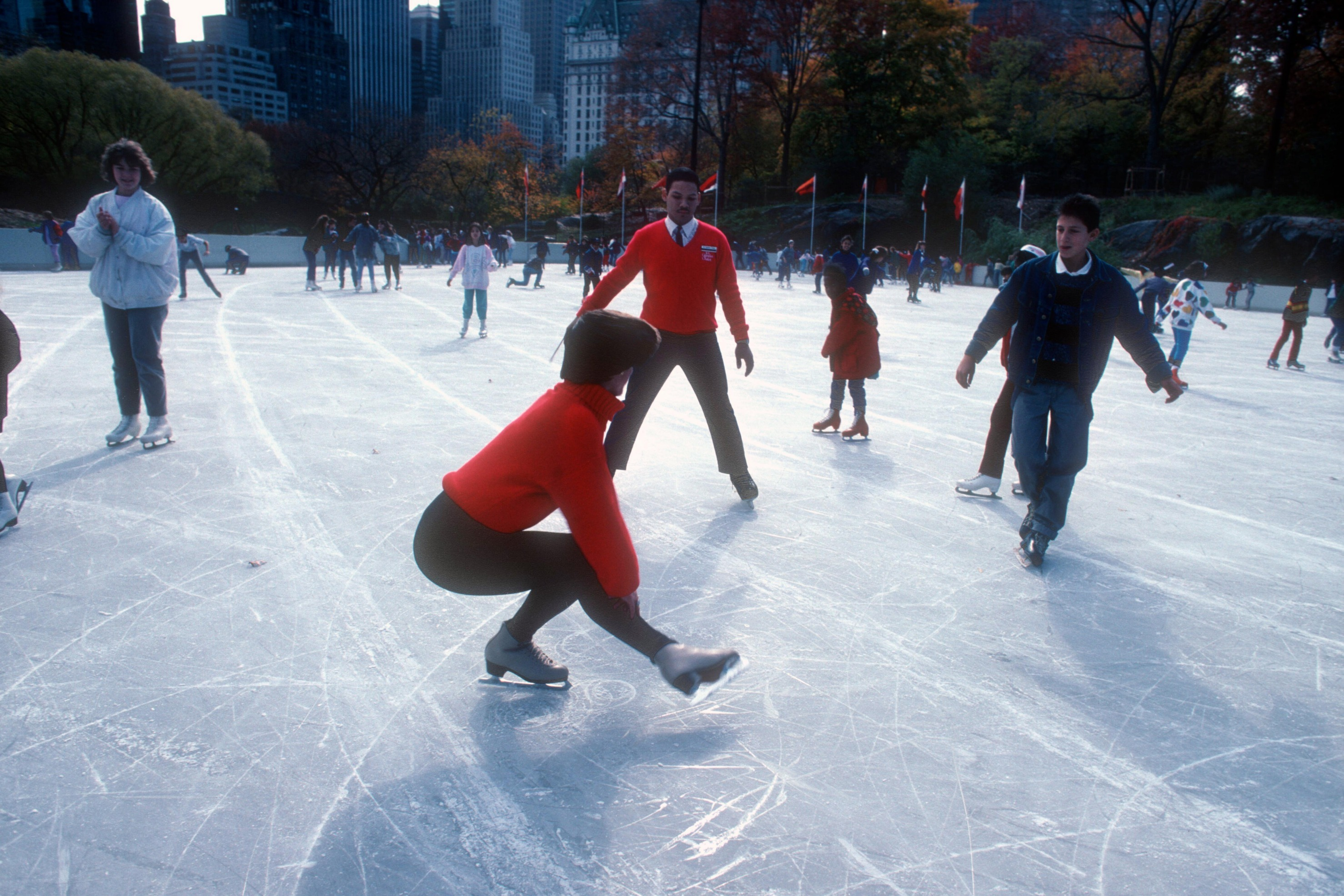 Wollman Ice-Skating Rink Opens