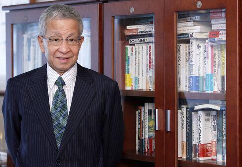 Former Ministry of Finance official Eisuke Sakakibara