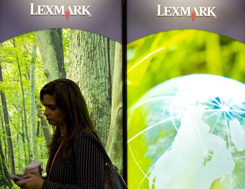 Lexmark Takeover Seen With Shares Cheapest in Industry