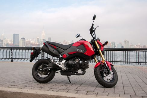 The view is expensive, but the Grom is cheap.