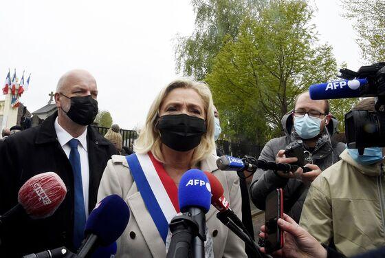 Le Pen Tells Macron He Risks 'Civil War' After Military Letter
