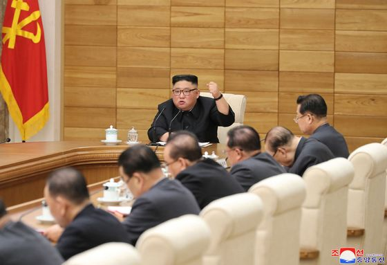 Kim Jong Un Urges 'Severe Blow'to Those Sanctioning North Korea