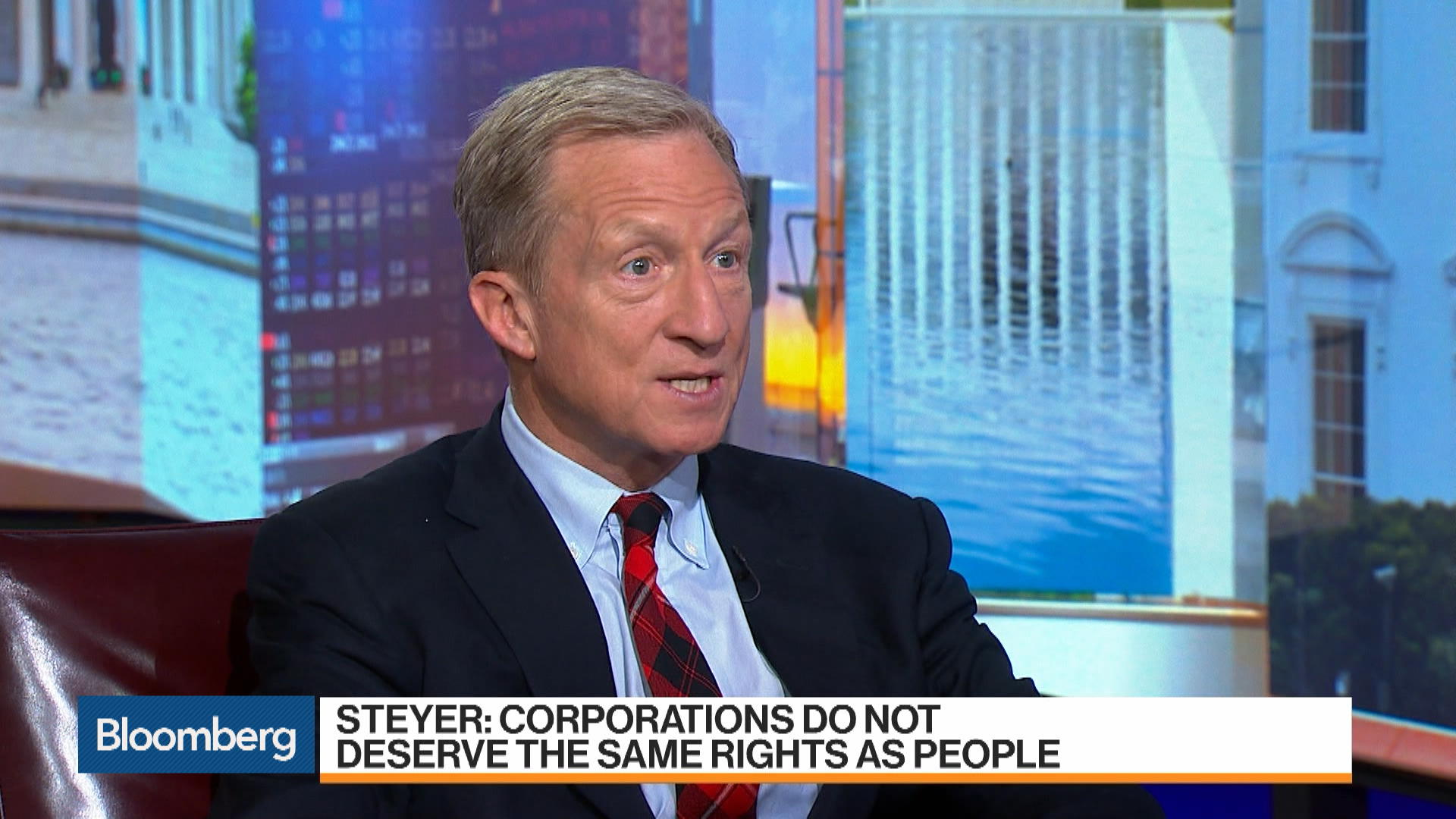 Democratic Candidate Steyer Says Brexit Was a Terrible Outcome