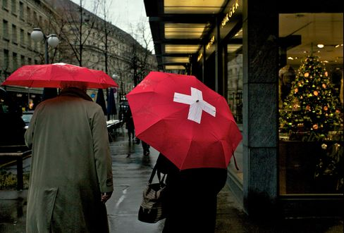 Swiss Join Global Suffering as Europe Crisis Ripples