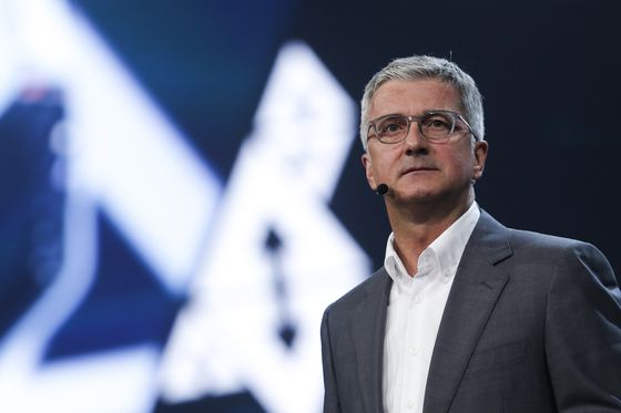 VW Is Said to Pick Schot as Audi Interim Chief After CEO Arrest