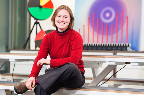 Cecily Morrison of Microsoft Research in Cambridge, Jan. 11, 2016.