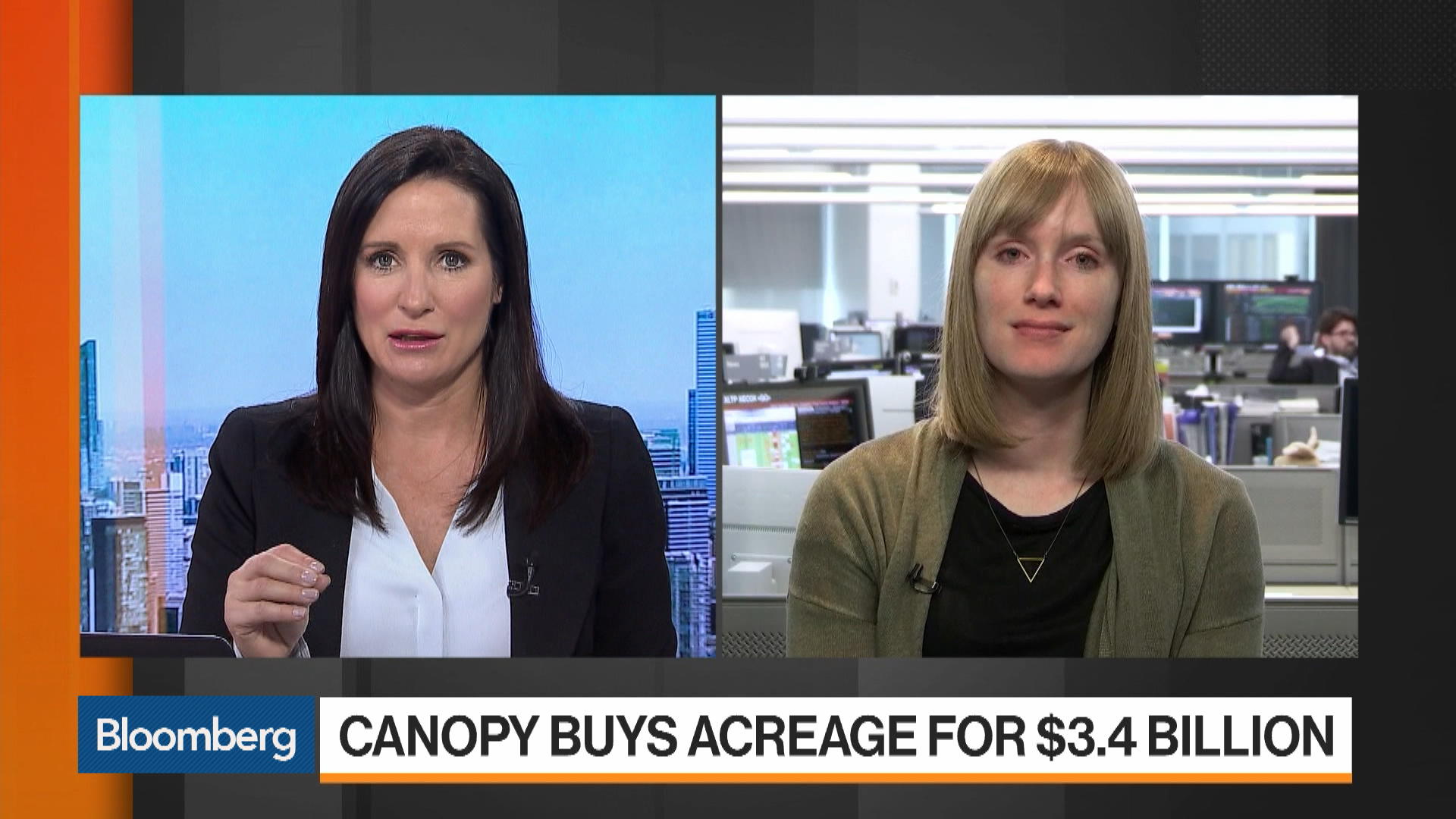 Canopy Banks on U.S. Pot Legalization With Acreage Acquisition