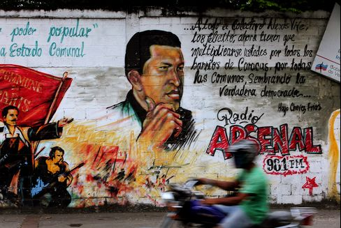 Chavez Spending Boom Seen Spurring 31% Devaluation Post-Election