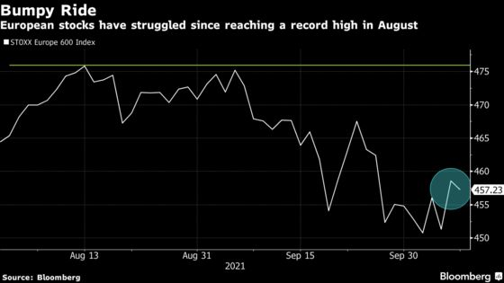European Stocks Fall as Growth Recovery Risks Weigh on Sentiment