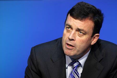 Brian Lenihan, Ireland's finance minister