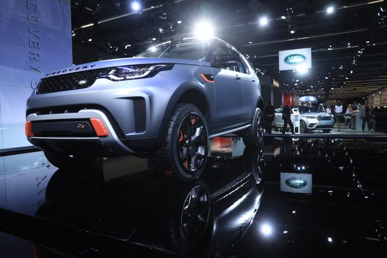 Jaguar Land Rover Prepares for New Era Moving SUV From U.K.