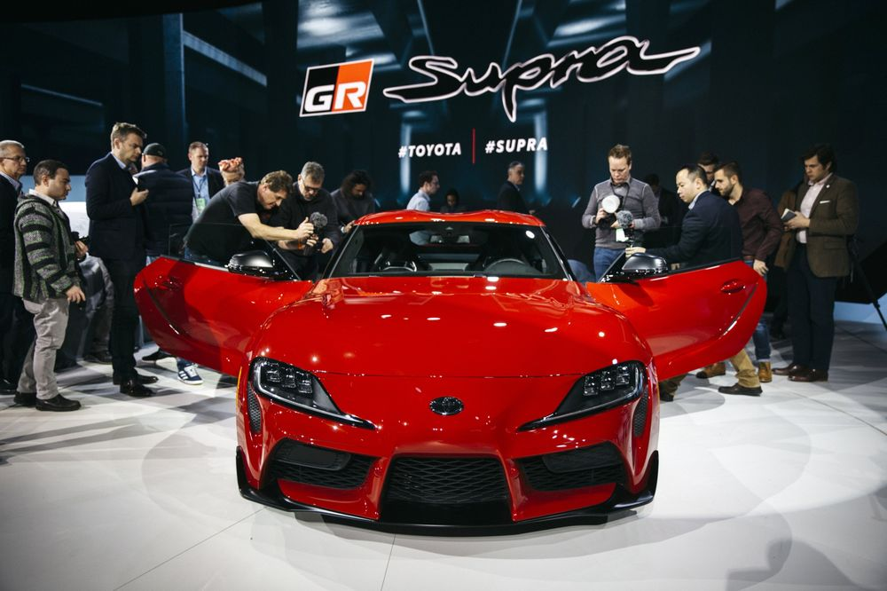 3eb6ea733e6 Toyota Reveal Event During 2019 North American International Auto Show