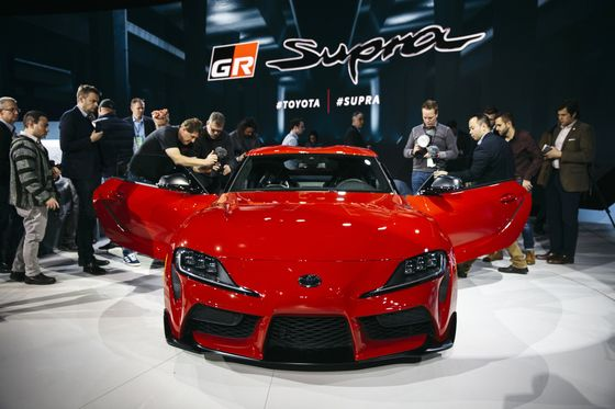 Toyota Debuts Its First New Supra in 21 Years