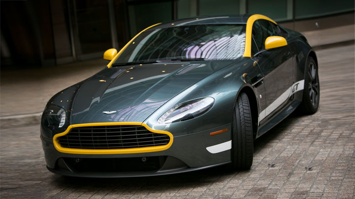 An Aston Martin For 1 400 A Month Bloomberg
