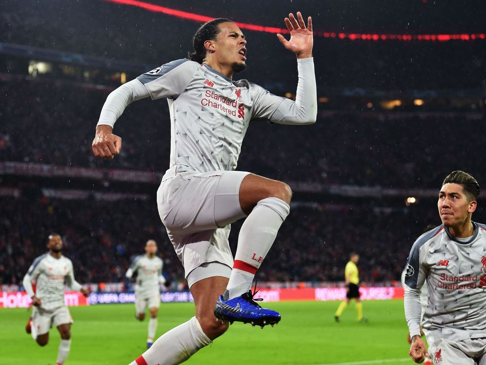 Liverpool's Dutch defender Virgil van Dijk.