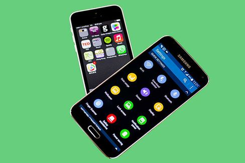 Click to compare iOS and Android screen sizes
