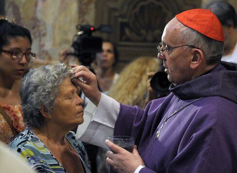 New Pope Jorge Bergoglio