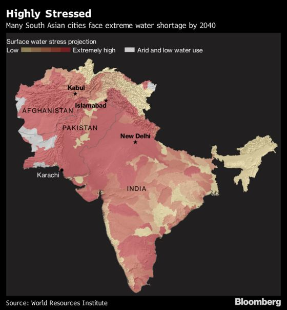 A Water Crisis Is Brewing Between South Asia's Arch-Rivals