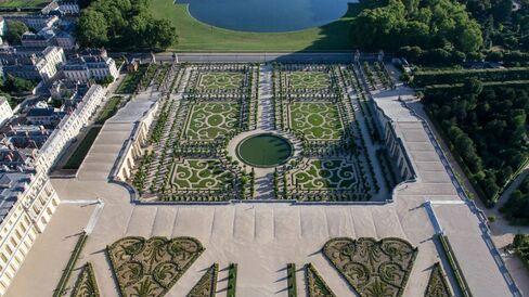 Orangerie Garden at Versailles
