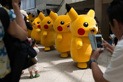 Nintendo Game Character Pikachu Outbreak Event Hosted By The Pokemon Company