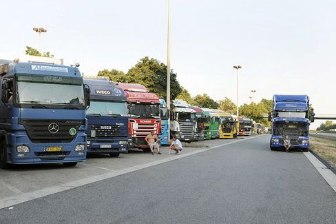 Germany Wants More Truck Drivers