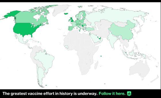 Global Cases Top 100 Million; N.J. May Relax Curbs: Virus Update