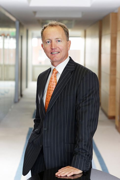 EBS Building Society CEO Fergus Murphy