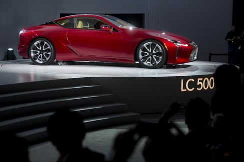 The Lexus LC 500 is Toyota's gambit to compete with Mercedes-Benz and BMW to reclaim the U.S. luxury sales crown.