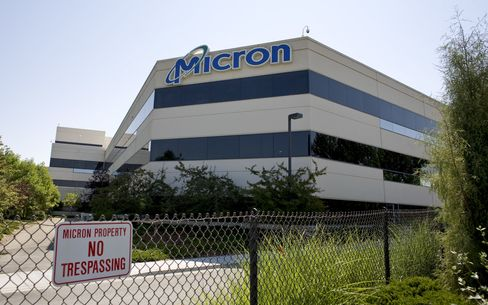 Micron Shares Plunge After Chip Prices Depress Sales