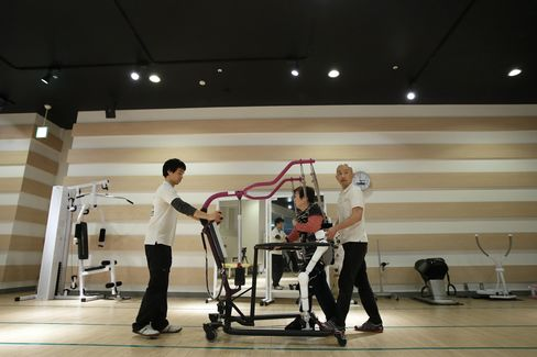 Cyberdyne's Hybrid Assistive Limb