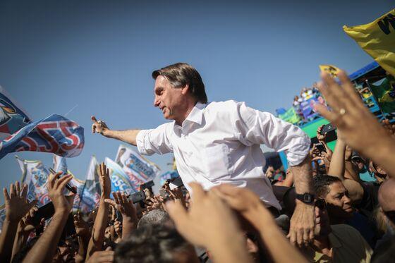 Brazil Election Leader Bolsonaro Hits Ceiling, Poll Shows