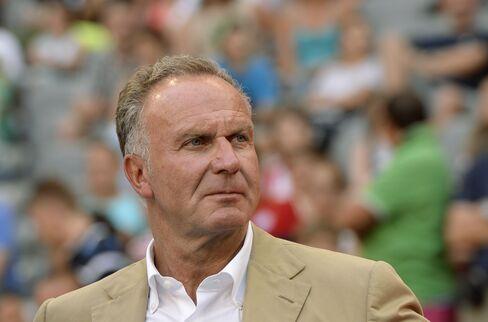 European Club Association Chairman Karl-Heinz Rummenigge