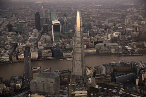 The Shard Stands in London